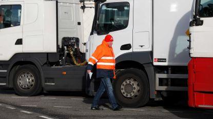 700 vrachtwagenchauffeurs protesteren aan Europees Parlement tegen nieuwe maatregelen