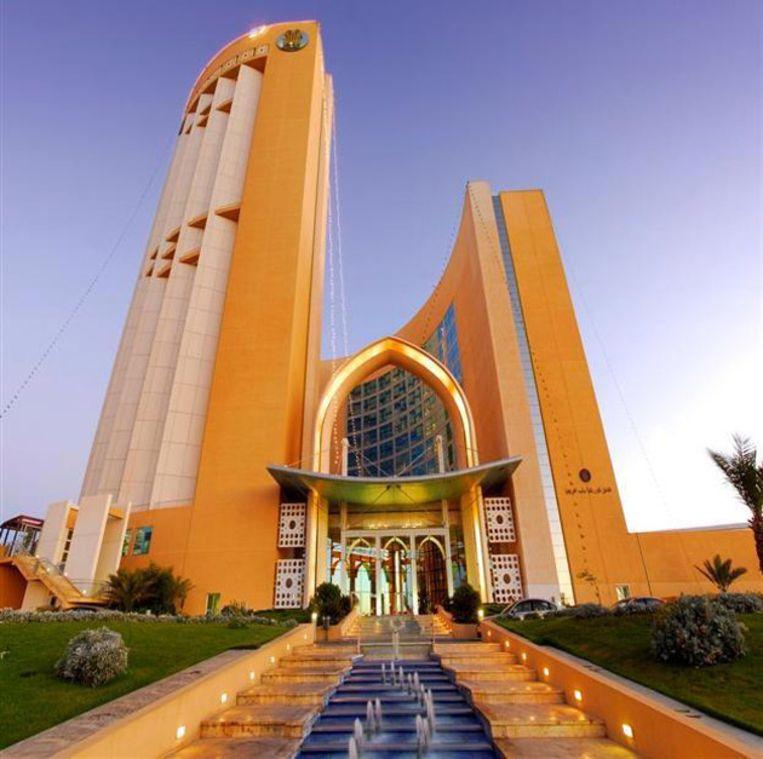 Het Corinthia hotel in Tripoli. Beeld