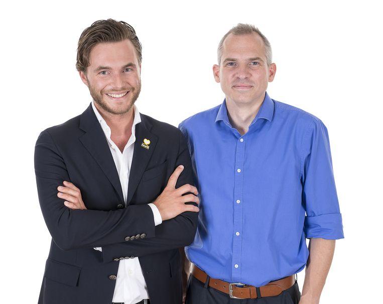 Bernard Van Der Stock en Matthias Diependaele.