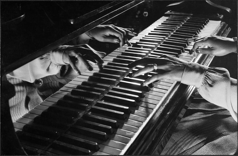 Pianist Mary Lou Williams in New York, 1943. Beeld Getty