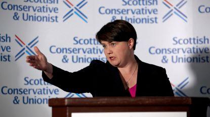 """Schotse Tory-leider Ruth Davidson neemt ontslag: """"Wil dichter bij mijn familie zijn"""""""