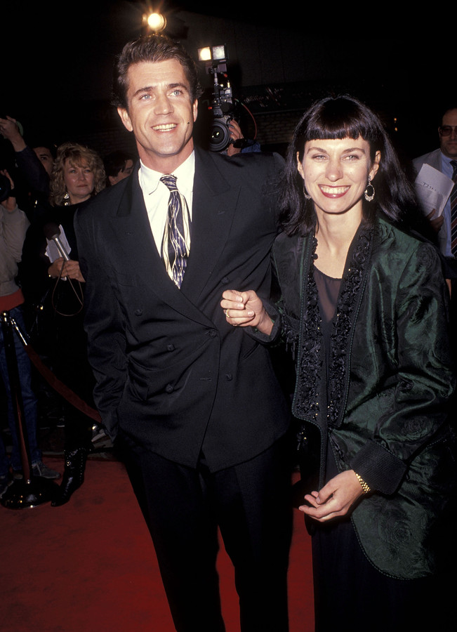 Mel Gibson et Robyn Moore.