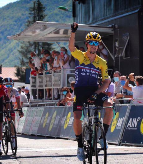 Victoire finale pour Primoz Roglic, souverain au sommet du Grand Colombier