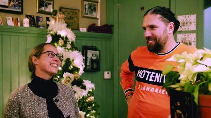 Schepen van Sport Véronique Fontaine en Fredje Penne van Bar Gidon stomen zich klaar voor mini-triatlon