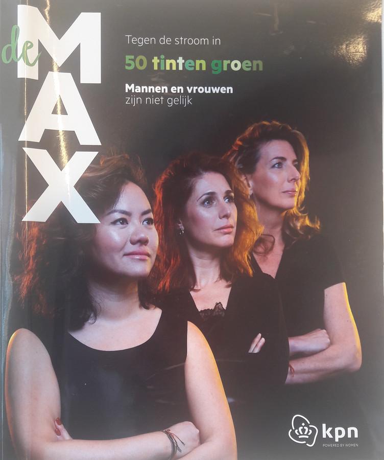 KPN's nieuwe interne glossy De Max, vernoemd naar ceo Maximo Ibarra