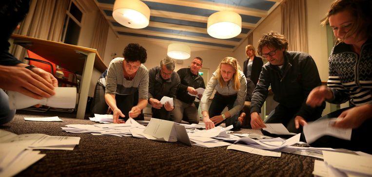 Op Schiermonnikoog was de opkomst het hoogst: 82,5 procent. Beeld ANP