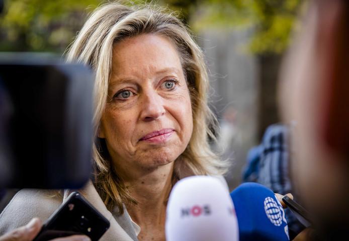 Minister Kajsa Ollongren van Binnenlandse Zaken en Koninkrijksrelaties (D66)