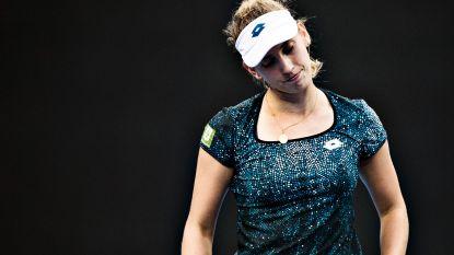 Elise Mertens verliest in twee sets van Julia Görges en is uitgeschakeld op WTA Elite Trophy