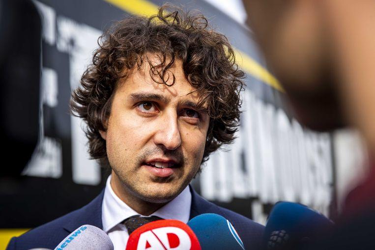 GroenLinks-leider Jesse Klaver.  Beeld ANP - Sem van der Wal