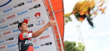 Porte wint vijfde rit Tour Down Under, Slagter derde