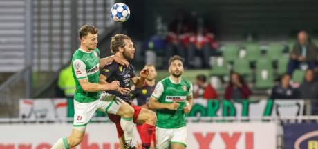 Julius Bliek wacht met FC Dordrecht na derbyverlies nog op eerste driepunter