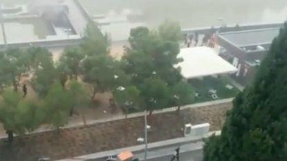 Supporter Deportivo overleden nadat hij bij rellen in water werd gegooid