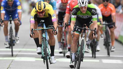 Drie op een rij: Bennett sprint opnieuw naar de zege in BinckBank Tour na spannend duel met Groenewegen