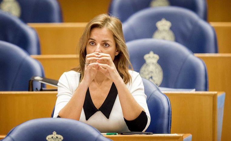 PvdD-leider Marianne Thieme. Beeld anp