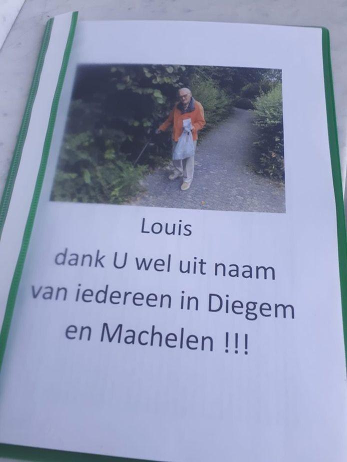 De bundel staat vol met positieve commentaren aan het adres van Louis.