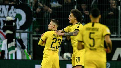 Thorgan Hazard scoort heerlijk tegen ex-club en zet Dortmund op weg naar zege