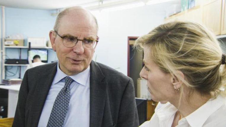 Koen Geens en Cathérine Moerkerke