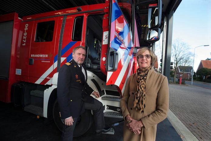 Diemer Kransen (directeur VNOG) en Annette Bronsvoort (bestuursvoorzitter VNOG).