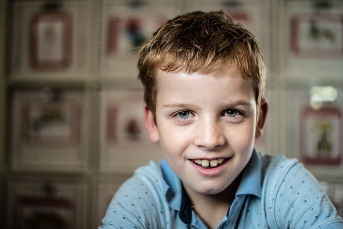 In het kader van Steptember: Luuk Willems (8) heeft cerebrale parese, afgekort CP.