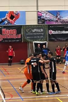 Slappe eerste helft kost Futsal Apeldoorn de overwinning