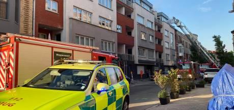 1 dode en 3 gewonden bij brand in appartementsgebouw