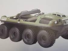 Amfibievoertuig gestolen uit schuur in Wapenveld