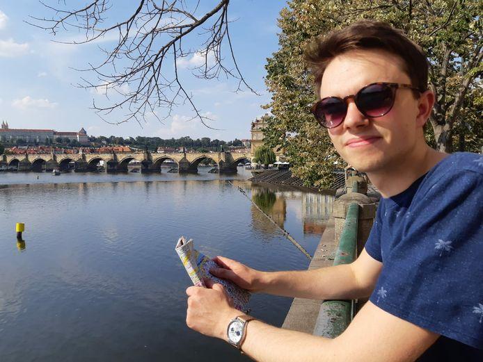 Pim van der Stigchel (20) zit in het laatste jaar van zijn bachelorstudie werktuigbouwkunde.