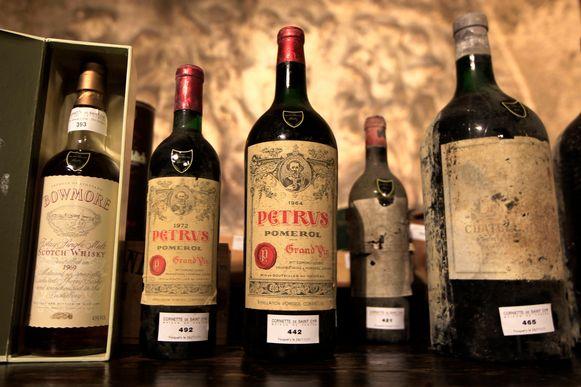 De kelder waarin werd ingebroken, omvatte bijna alle grand cru wijnen die als Bordeaux geklasseerd staan.