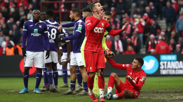 Le gaspillage du Standard sauve Anderlecht