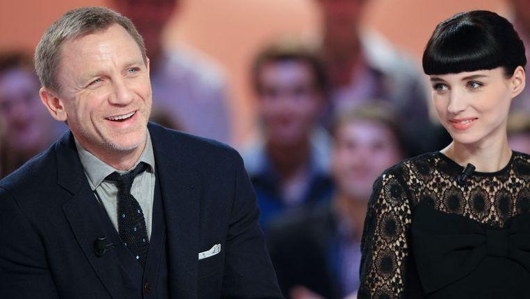 Hoofdrolspelers Daniel Craig en Rooney Mara Beeld afp