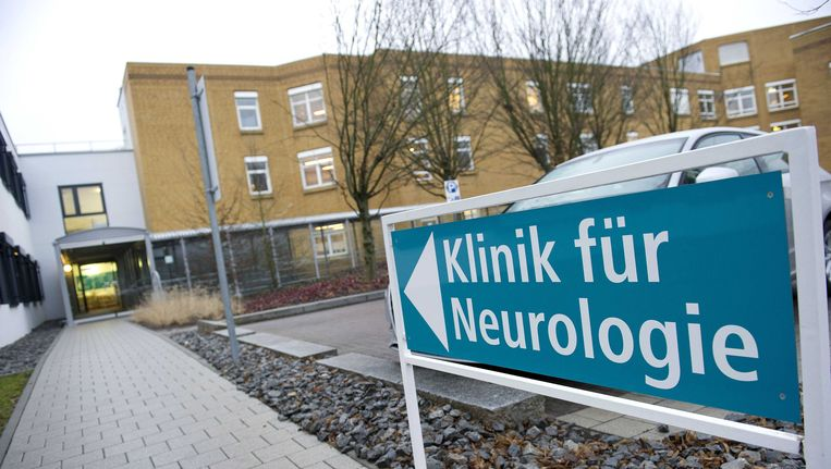 De Klinikum am Gesundbrunnen, het Duitse ziekenhuis in Heilbronn waar de omstreden neuroloog Ernst Jansen Steur werkt. Beeld ANP