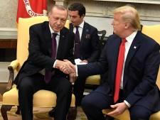 Trump ontvangt Turkse president Erdogan in Witte Huis