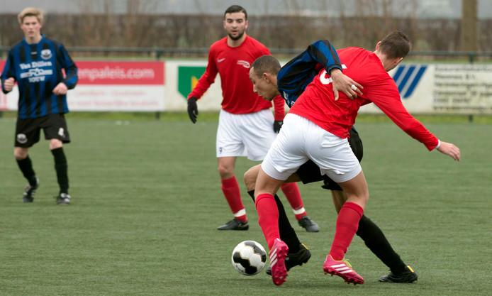 Servanio Martina opende de score tegen Kampong.