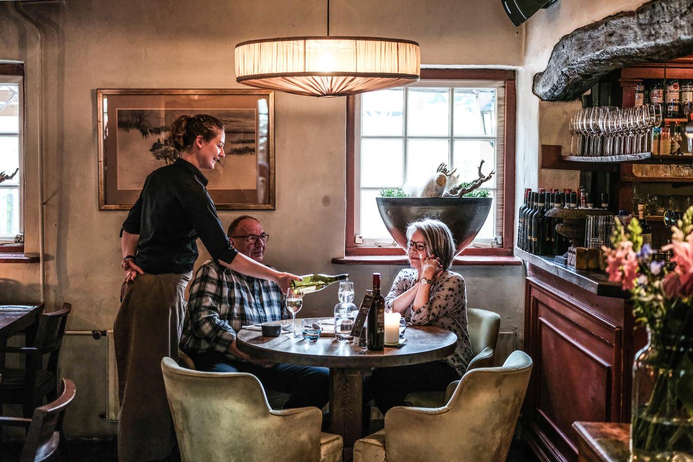 Restaurant de Peerdestal in Ellecom.