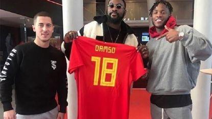 Voetbalbond dumpt rapper Damso, Belgen naar Rusland zonder WK-lied