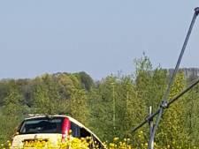 Misdragende automobilisten wissen sporen na ernstig ongeluk op A2