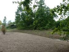 Vijf grote populieren geveld bij belevingstuin Liduina in Boxtel