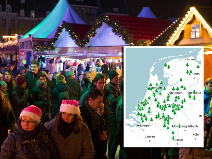 Vind Hier Een Gezellige Kerstmarkt Bij Jou In De Buurt Binnenland