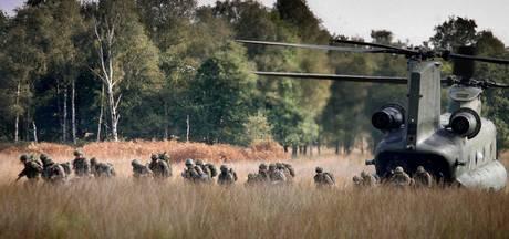 Stuk minder geweerschoten op militair oefenterrein Budel