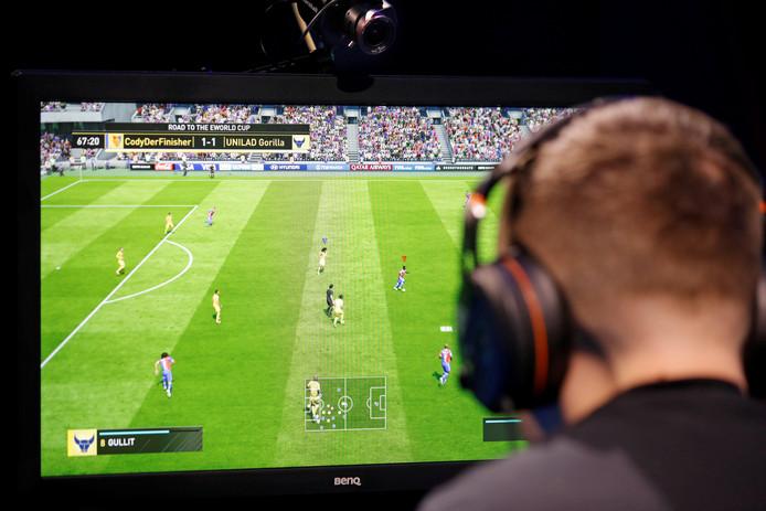 FIFA is nog steeds veruit de meest gespeelde game, zo blijkt uit onderzoek van Multiscope.