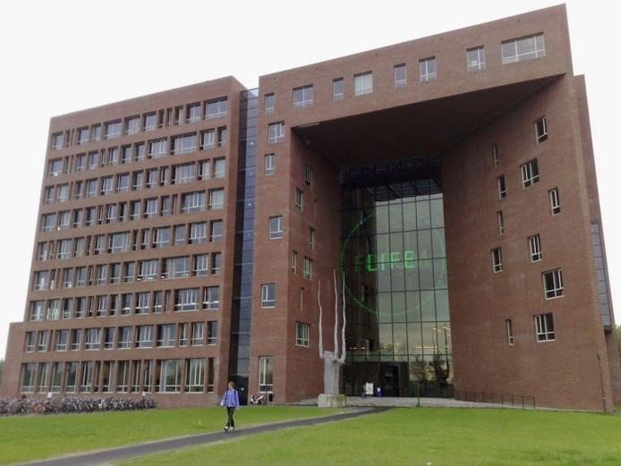 Het Forumgebouw van Wageningen Universiteit.