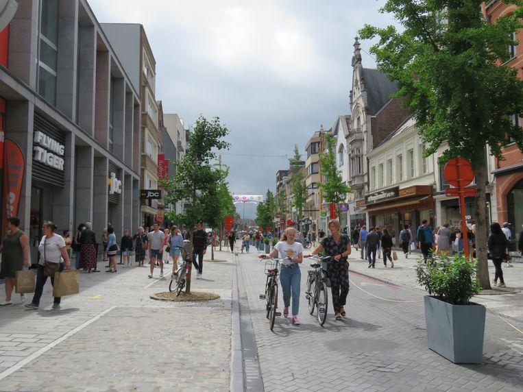 Volop ruimte in de Ooststraat.