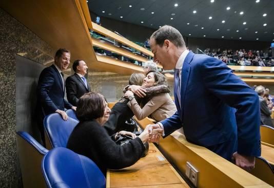 Lodewijk Asscher (PVDA) condoleert Van Weezels vrouw Anet Bleich