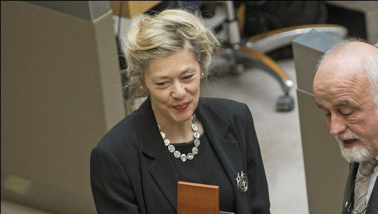 Sophie De Schaepdrijver kreeg in 2012 een Gouden Erepenning toegekend in het Vlaams Parlement.
