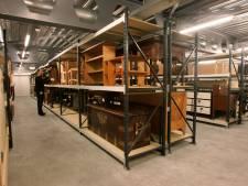 Nieuw duurzaam depot voor schilderijen, meubels en en bodemschatten