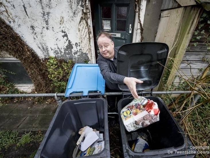 Enschedeër woedend op wethouder over diftar: 'Je hebt een bende veroorzaakt'