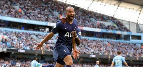 Manchester City overklast Spurs maar wint niet door supersub Moura