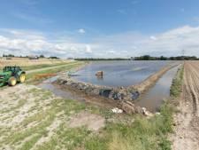 Rillandse boer maakt van akkerland een binnenmeer