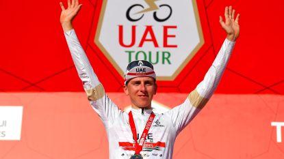 UAE Emirates verlengt contract van Tadej Pogacar met één jaar tot eind 2024