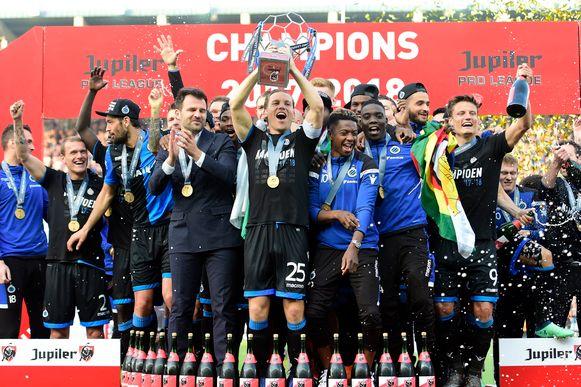 Wie volgt Club Brugge op als landskampioen?